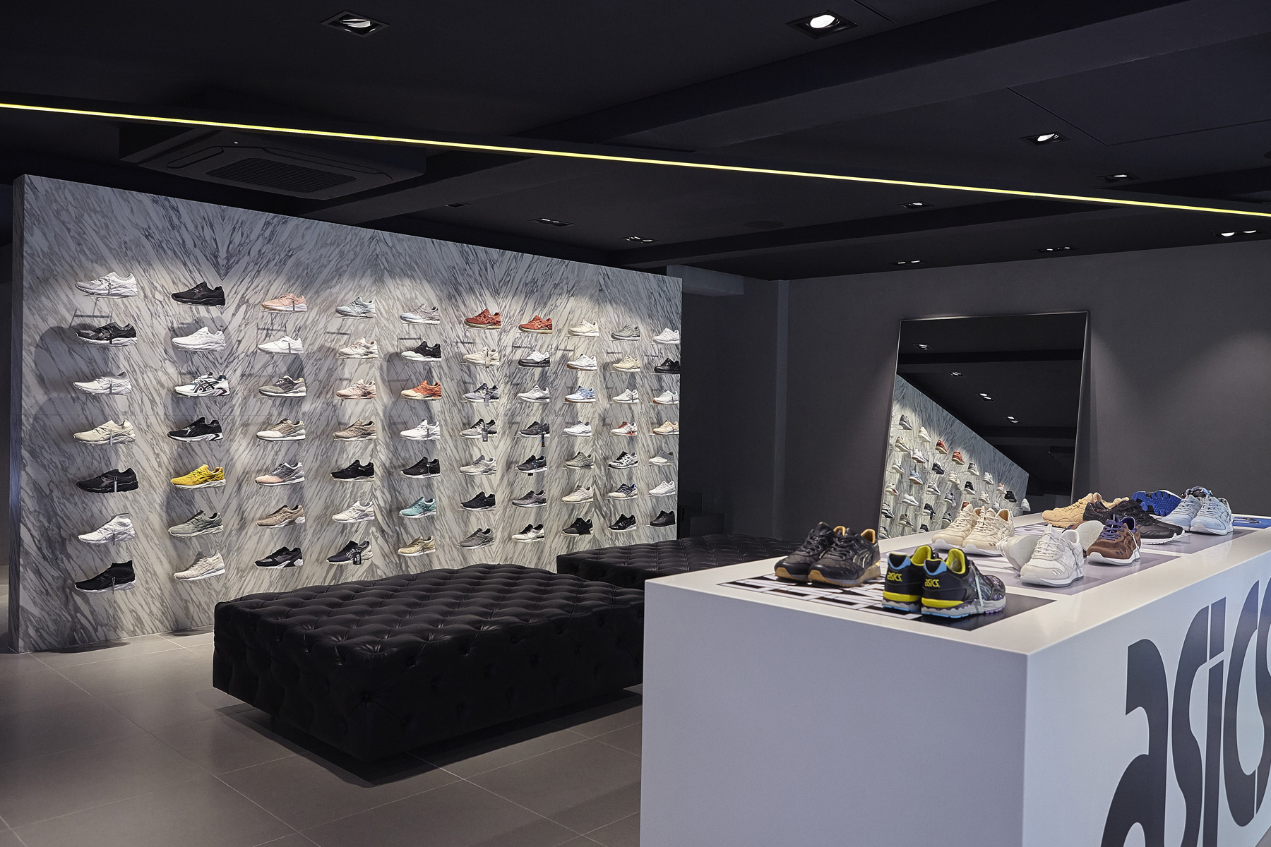 The ASICS Tiger Garosugil Road Store is the second ASICS Tiger brand  concept standalone store ef8404cdf