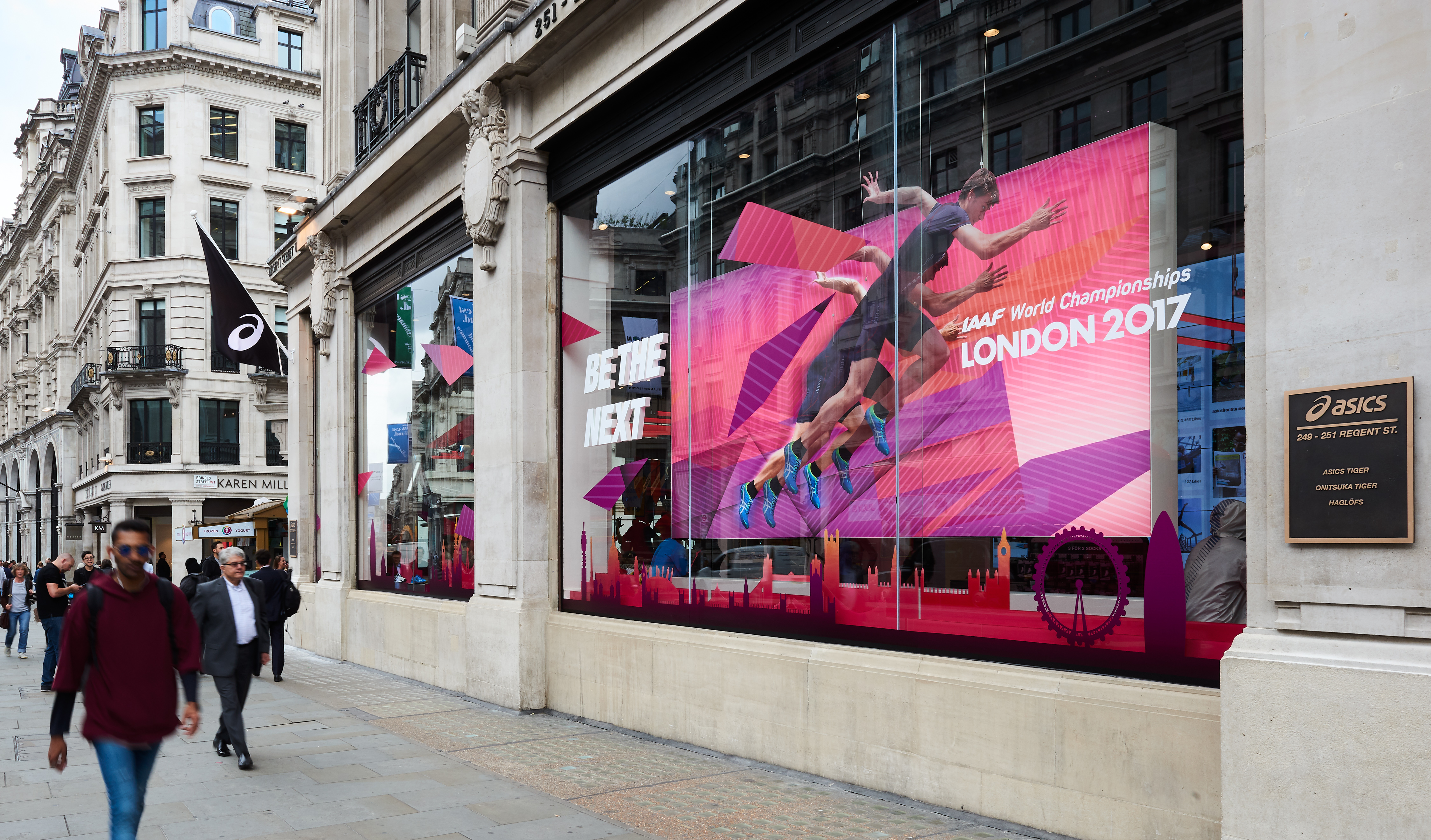2560e9898621 ASICS OPENS ITS LARGEST STATE-OF-THE-ART FLAGSHIP STORE ON LONDON S REGENT  STREET