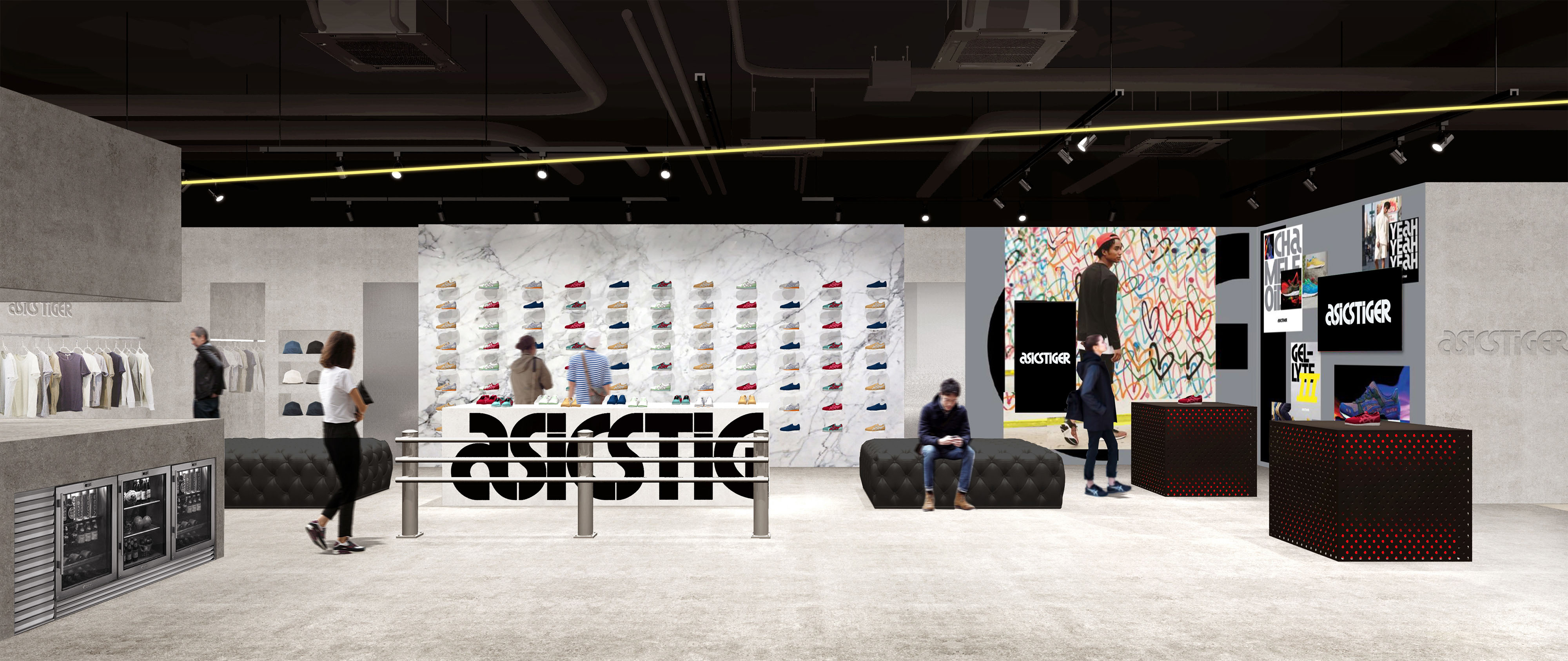 """REDESIGN OF THE """"ASICS TIGER"""" BRAND"""
