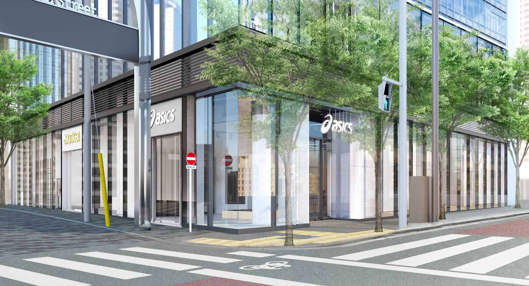 アシックス 国内最大の旗艦店 直営店「原宿フラッグシップ」をオープン asics