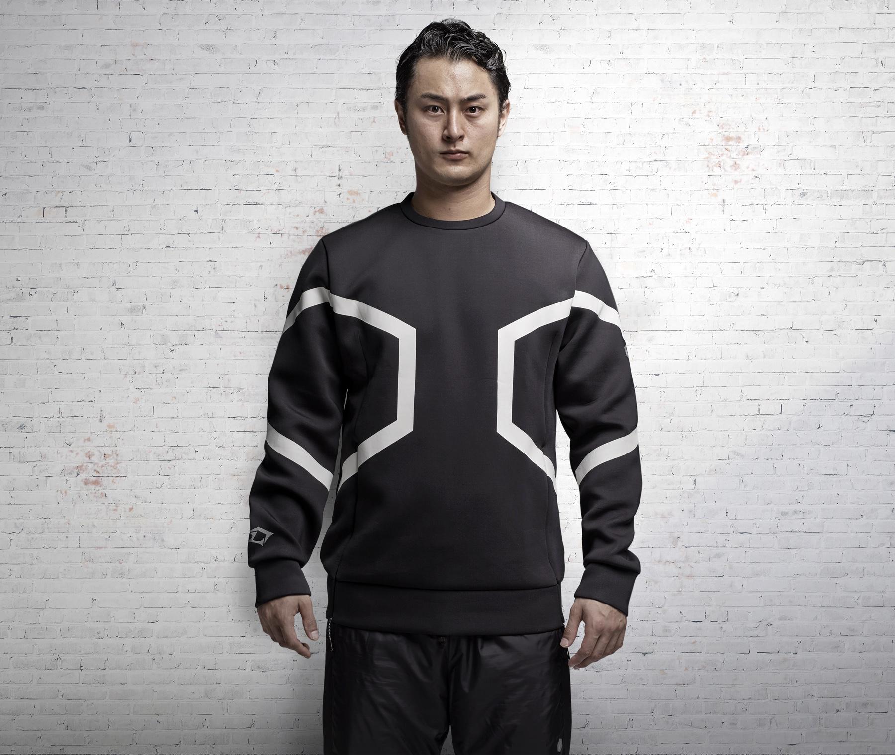 アシックス 「」ブランドからダルビッシュ有選手モデルの トレーニングアパレルを発売 asics