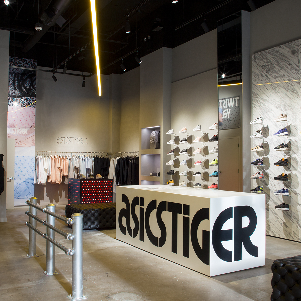 FIRST US ASICSTIGER CONCEPT STORE TO