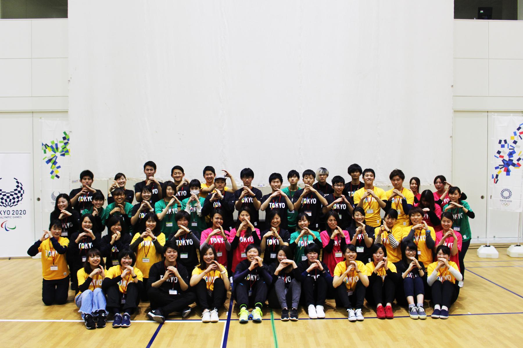 アシックス 東京2020参画プログラム 「学生が考える、東京2020大会に向けたボランティアウエア」 ワークショップを開催しました! asics
