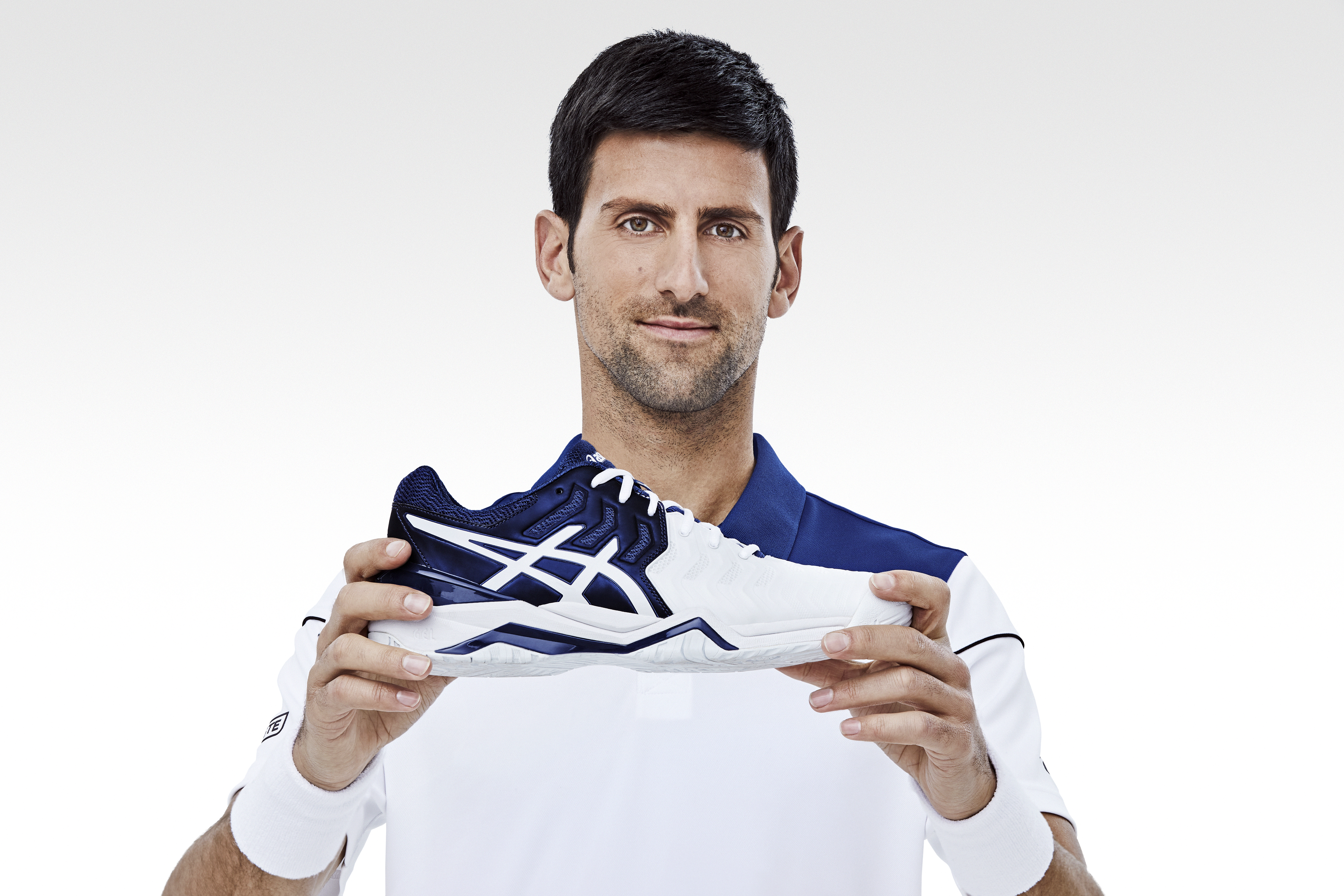Asics And Novak Djokovic Double Up For An Ace Launch New Global Tennis Footwear Ambassador Partners To Create Exclusive Gel Resolution Novak Asics Global The Official Corporate Website For Asics And