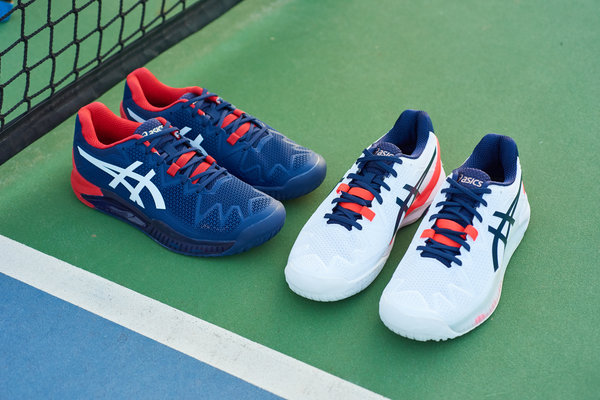 ASICS GEL-RESOLUTION™ 8: HIGH-TECH TENNIS SHOE FOR BASELINE PLAYERS  ASICS  Global - The Official Corporate Website for ASICS and Its Affiliates