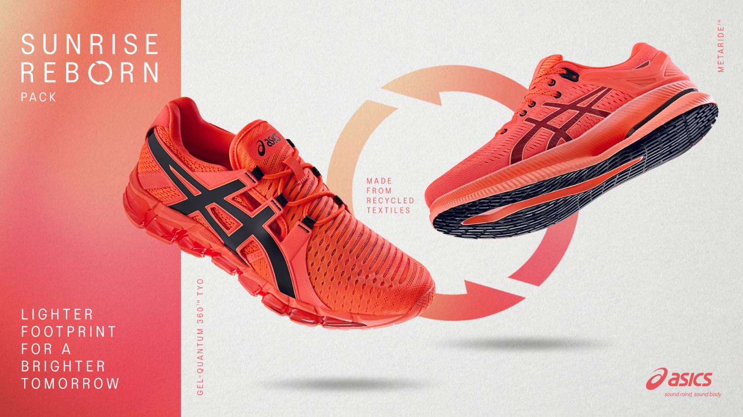 LIGHTER FOOTPRINT, BRIGHTER TOMORROW: ASICS UPCYCLES SECOND-HAND ...
